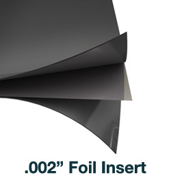 flexible graphite foil insert