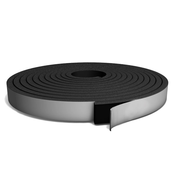 Black PVC Foam roll