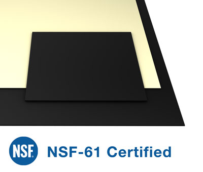 nsf-61 certified rubber