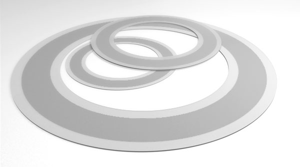 ptfe with stianless steel core gasket