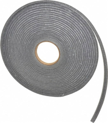 Grey Polyurethane Open Cell Foam Strip Roll With Psa 1 4