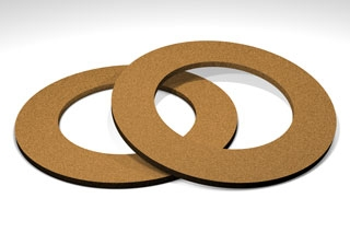 Cork Rubber Washer 3 8 Quot Id X 3 4 Quot Od X 1 16 Quot Thick 10