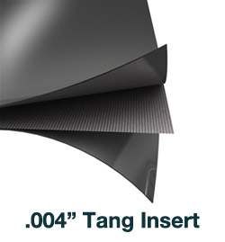 flexible graphite tanged insert