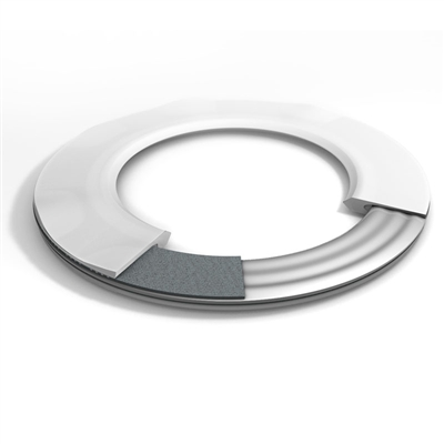 TFE Slit envelope gasket with corrugated steel d7590 filler