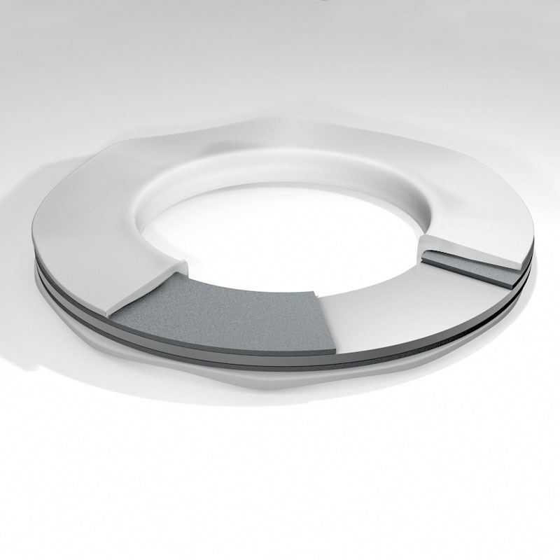 Machined Adaptor PTFE Envelope Gasket